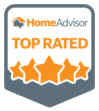 HomeAdvisor Top Rated Provider