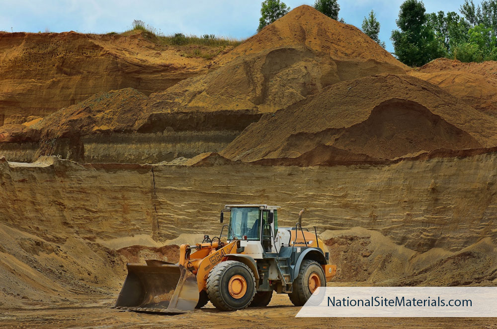 Fill Dirt for Construction Sites and DIY Projects - National Site Materials