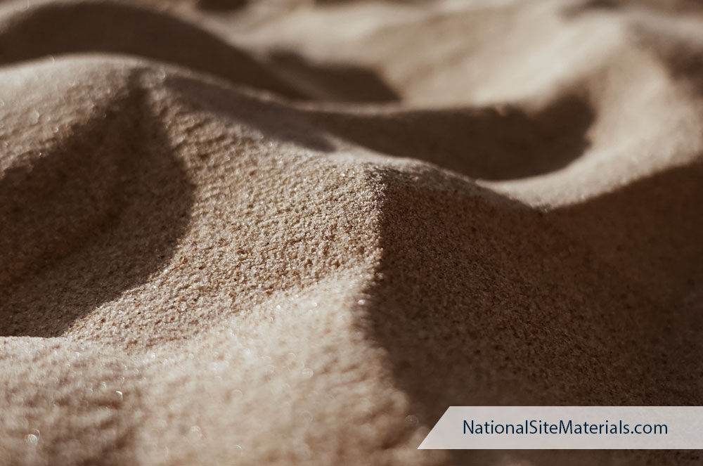 Sand for Construction Sites and DIY Home Projects - National Site Materials