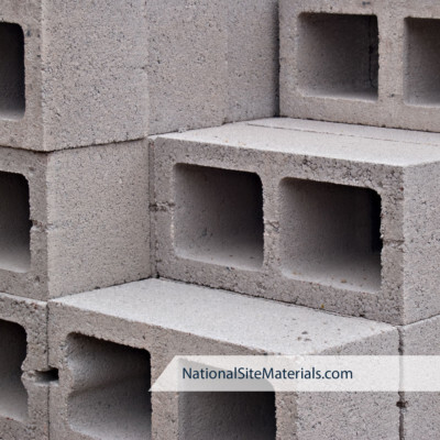 Concrete Blocks - Building Materials from National Site Materials 888-237-2746