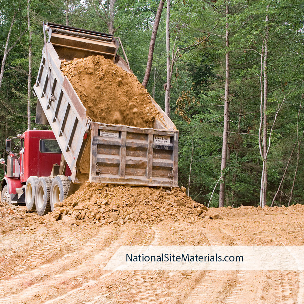 Aggregate Materials from National Site Materials 888-237-2746