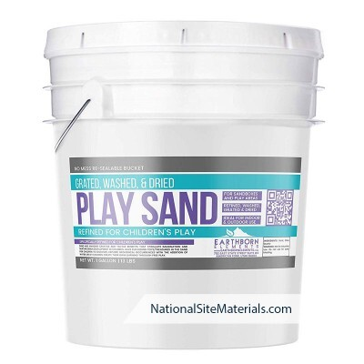Play Sand 1 Gallon Bucket from National Site Materials (888) 237-2746