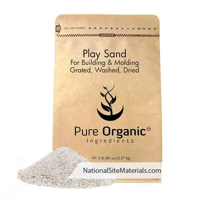 Play Sand 5 Pound Bag from National Site Materials (888) 237-2746